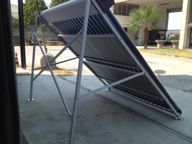 Pannello Solare Con Rame : Pannello solare termico circolazione forzata con tubi