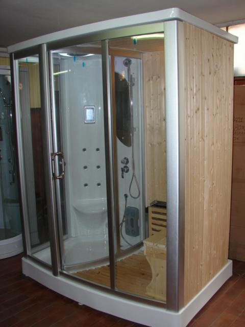 Doccia idromassaggio bagno turco sauna finlandese fos 1 ebay - Sauna o bagno turco ...