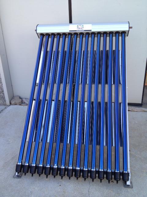 Pannello Solare Termico Resa : Pannello solare termico circolazione forzata con tubi