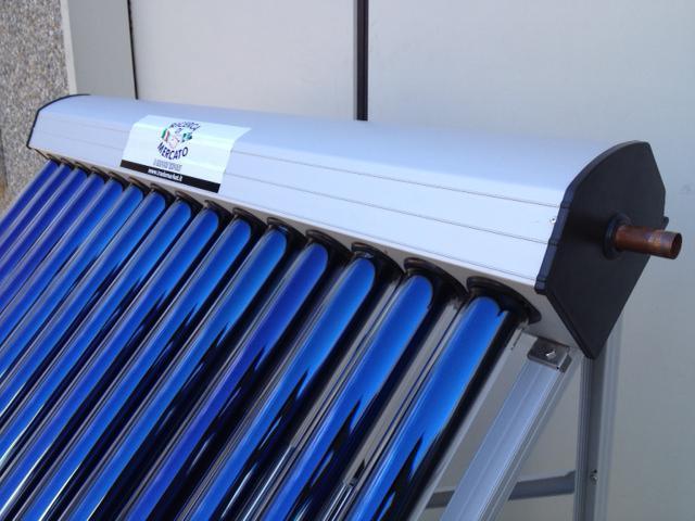 Pannello Solare Termico A Tubi Sottovuoto : Pannello solare termico circolazione forzata con tubi