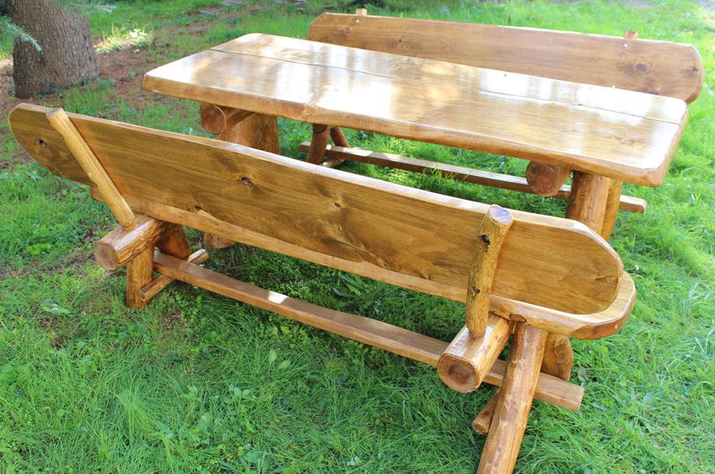 Panche da giardino tutte le offerte cascare a fagiolo for Tavoli da giardino in legno rustici