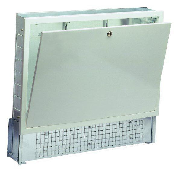 Cassetta per collettori riscaldamento a pavimento impianto - Cassetta per collettori idraulici ...