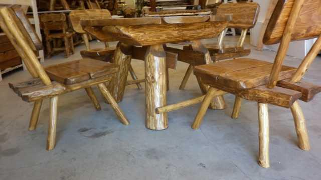 Tavolo tavoli da esterno arredo giardino tondo con 4 sedie - Dimensioni tavolo tondo 4 persone ...
