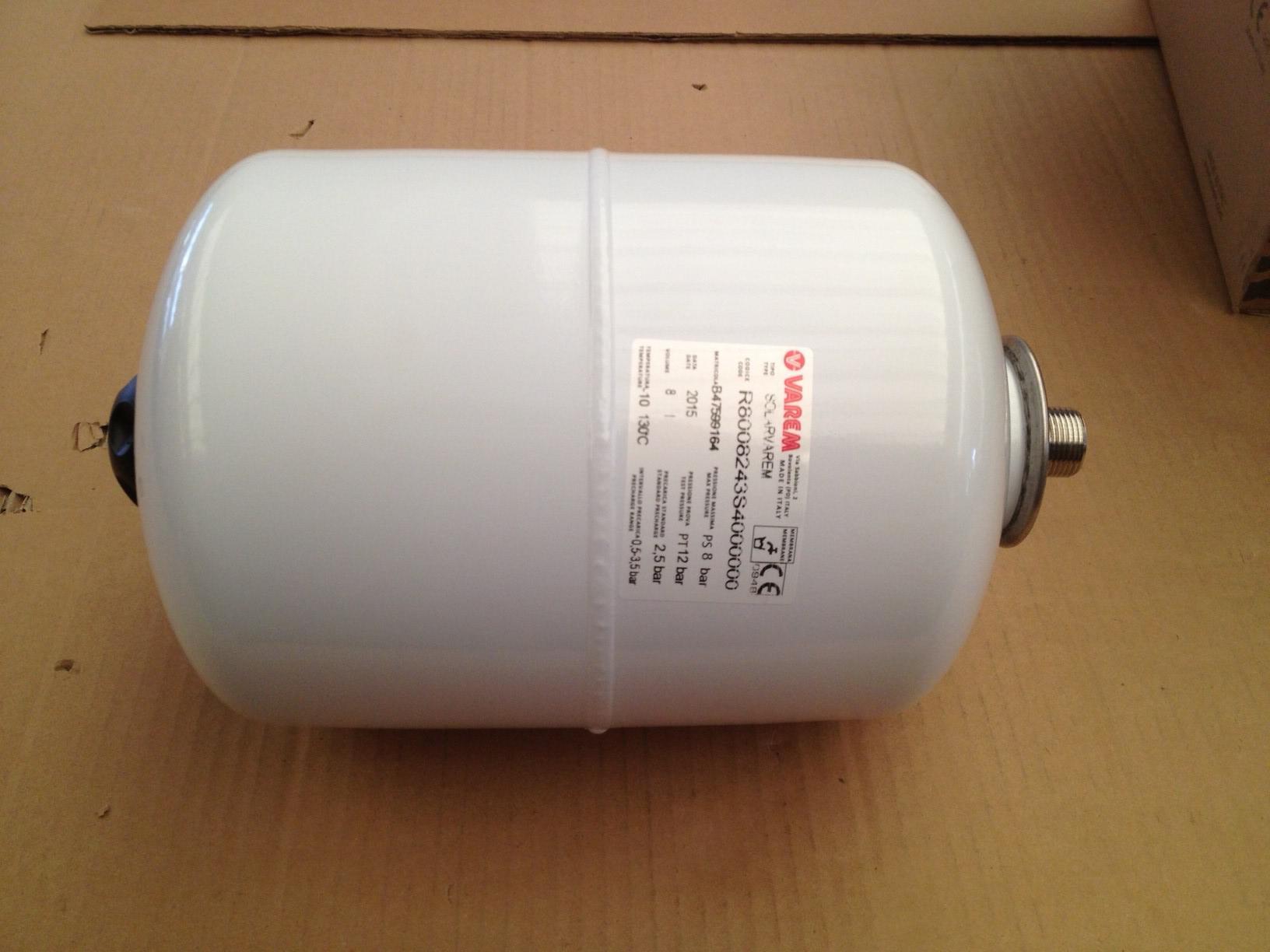 Pannello Solare A Vaso Aperto : Vaso di espansione solare litri pannello impianto