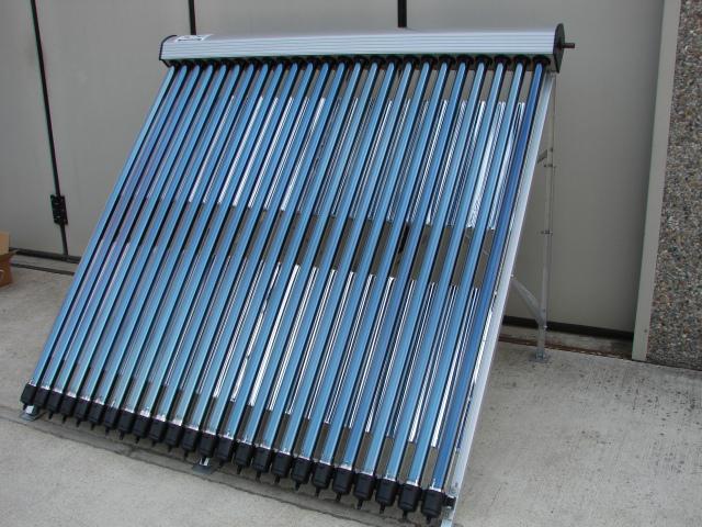 Pannello Solare Termico Kw : Pannello solare termico circolazione forzata con tubi