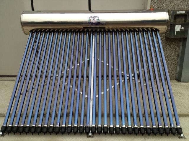 Pannello Solare Con Boiler Integrato Prezzi : Pannello solare termico