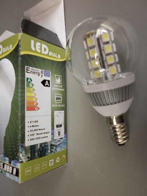 lampadina a led attacco E14