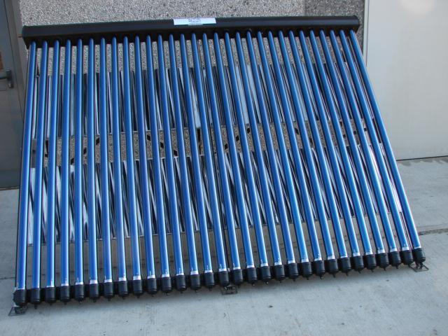 Pannello solare termico circolazione forzata con 30 tubi for Pannelli solari immagini