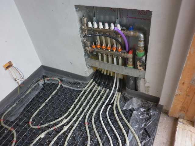 Collettore per impianto a pavimento radiante riscaldamento a pavimento 4 vie ebay - Collettori per riscaldamento a pavimento ...