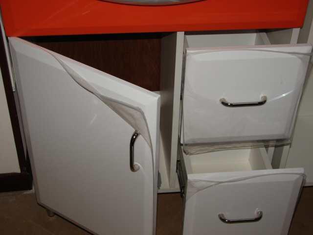 Mobile mobiletto bagno arredo bagno corredato di colonna laterale e specchio ebay - Lo specchio retrovisore centrale ...