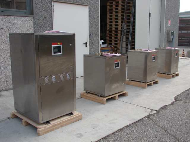 Pompa di calore geotermica acqua acqua